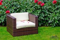 Kerti szék, sötét barna