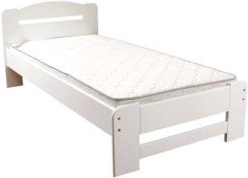 Dumbo fehér fenyő ágykeret 90x200