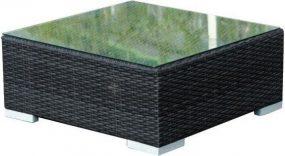 Kerti asztal, fekete