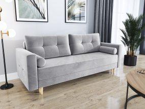 Largo01 kanapé ágyfunkcióval világos szürke