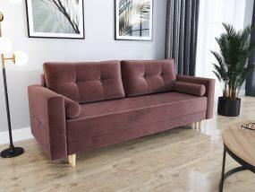 Largo03 kanapé ágyfunkcióval mályva