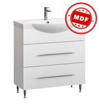 Fidelia fürdőszobai alsószekrény mosdóval 65 cm fehér