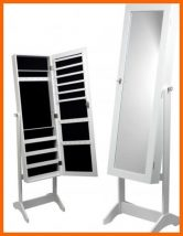 KALLO Hálószobai Ékszertárolós állítható tükör fehér 147cm - TOP TERMÉK 2021