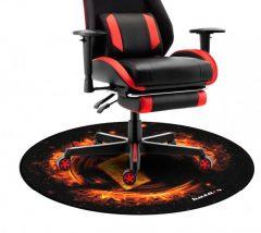 X-Game  Floormat 1.0 Gamer szőnyeg Black/Orange Fekete