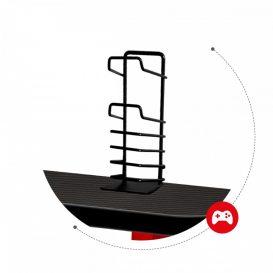 X-Game Hero 5.0 Carbon BLACK Gamer asztal