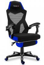 X-Game Combat 3.0 Black/Blue ergonomikus Gamer Fotel