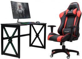 X-GAME Carbon LED Gamer asztal X3 NEW