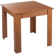 Bovino 4 személyes étkezőasztal égerfa 70x70