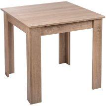 Bovino 4 személyes étkezőasztal sonoma 70X70