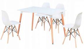 Didier IV NEW étkezőszett 4 székkel