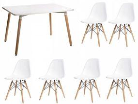 Didier IV NEW étkezőszett 6 székkel