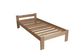 Bucsin borovi fenyő ágykeret ágyráccsal 90x200 cm lakkozott
