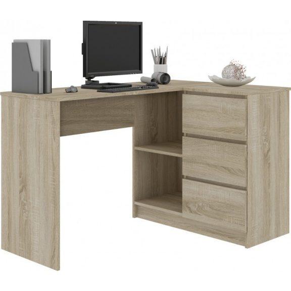 Alpha sarok íróasztal sonoma
