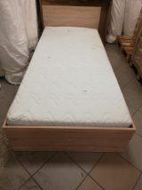 PIETRO ágykeret 90x200 sonoma aloe verás matraccal együtt