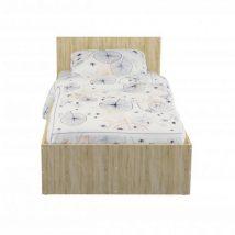 Pietro 90x200 ágy matraccal - sonoma