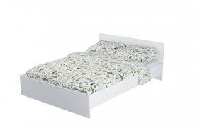 Pietro 160 franciaágy Aloe Vera matraccal - fehér