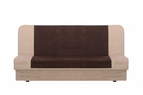 ARTSON nyitható kanapé 190x120 Bézs - Barna márványmintás szövettel