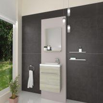 PERLA Fürdőszoba szett Rovere Grigio