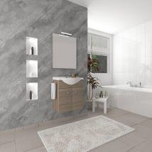 ZAFIRRO 1 Fürdőszoba szett Rovere Fumo 4287+4220