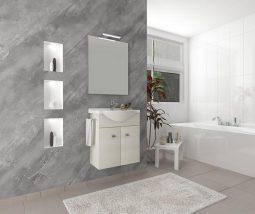 ZAFIRRO 2 Fürdőszoba szett Rovere Bianco 4187+4120