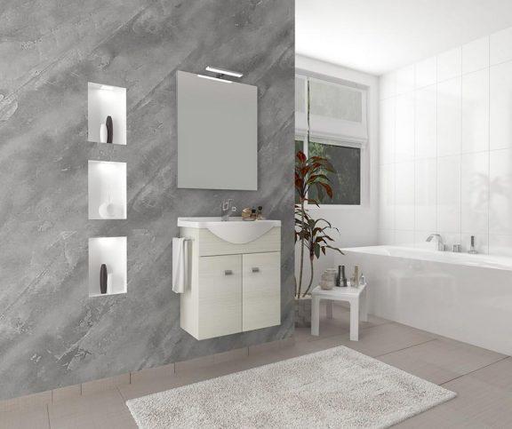 ZAFIRRO 2 Fürdőszoba szett Rovere Bianco