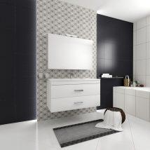 FLY 1 Fürdőszoba szett Rovere Bianco HG 250+260+L