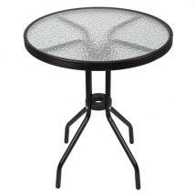 Spring Kerti asztal fekete