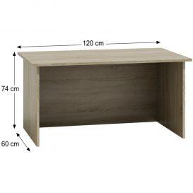 Zamora Számítógép asztal - sonoma