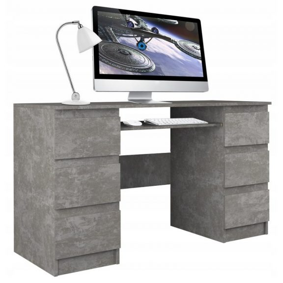 Berga Számítógép asztal - beton