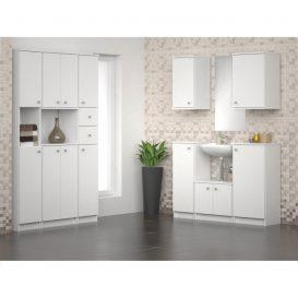 Alsó szekrény, fehér, bal oldali, GALENA SI07