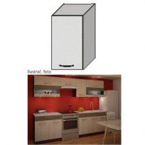 Felső konyhaszekrény, rigolletto light/rigolletto dark/wenge, JURA NEW IA G-40