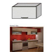 Felső konyhaszekrény, rigolletto light/rigolletto dark/wenge, JURA NEW IA OG-60 - Kiárusítás