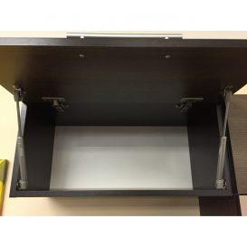 Felső konyhaszekrény, rigolletto light/rigolletto dark/wenge, JURA NEW IA OG-60