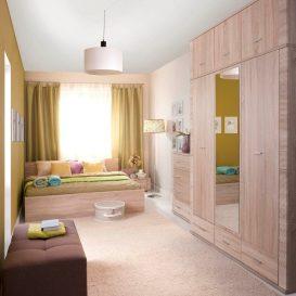 Fali szekrény typ 15, tölgy sonoma, GRAND