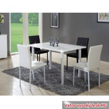UNITA Étkezőasztal FEHÉR HG