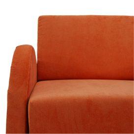 Széthúzható fotel, narancssárga, MILI 1