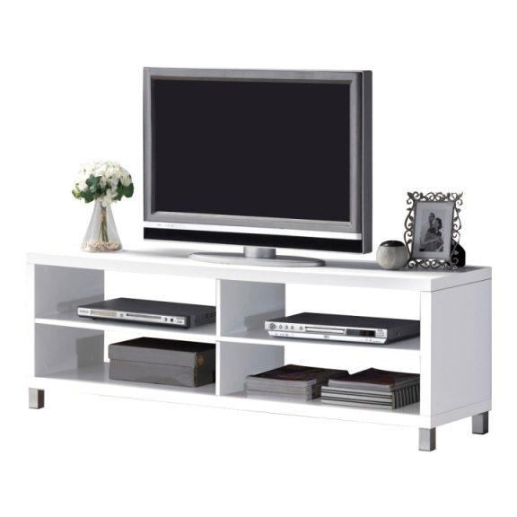 RTV asztal, fehér, TOFI  NEW
