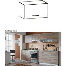 Felső szekrény, sonoma tölgyfa/fehér, CYRA NEW G0-50