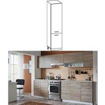 Alsó szekrény, sonoma tölgyfa/fehér, CYRA NEW S-50