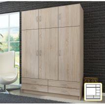 Kombinált szekrény, sonoma tölgyfa, GERI