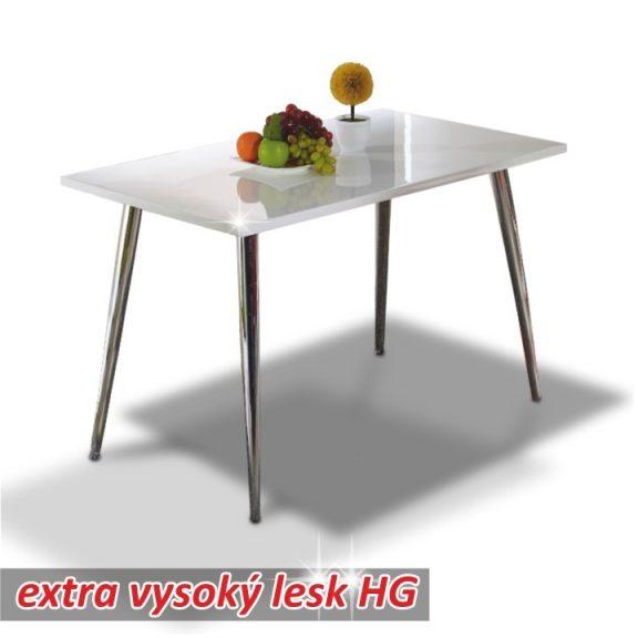 PEDRO étkezőasztal FEHÉR HG