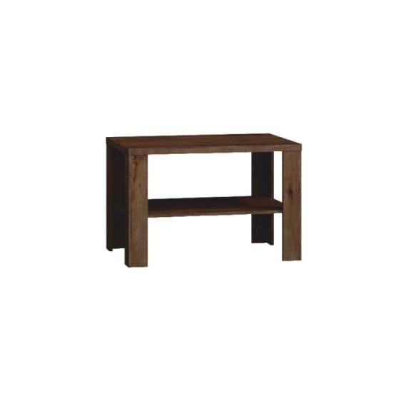 Dohányzóasztal, tölgyfa lefkas, TEDY T23