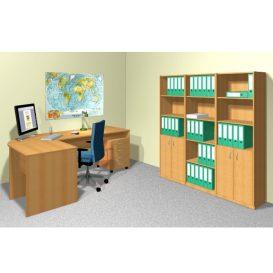 Alsó léc szekrényhez, bükk, TEMPO ASISTENT NEW 031