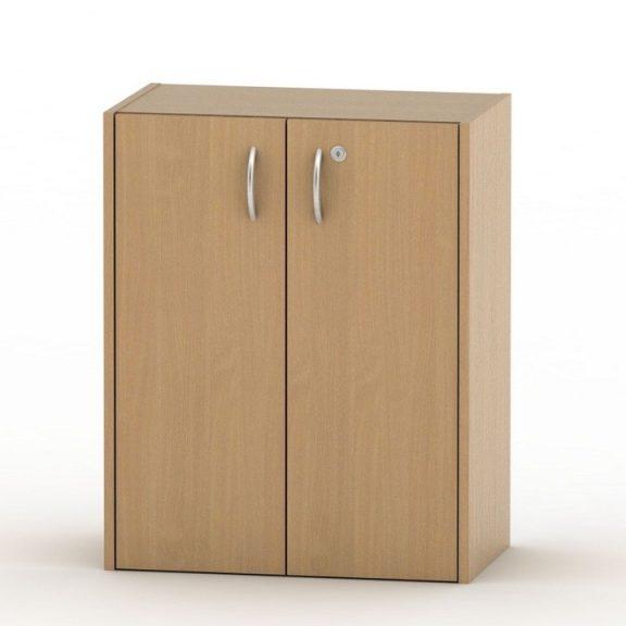 Alacsony szekrény lakattal, bükk, TEMPO ASISTENT NEW 011