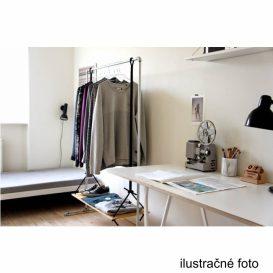 Görgős ruhaálvány, rozsdamentes fém+fekte műanyag, SEBO