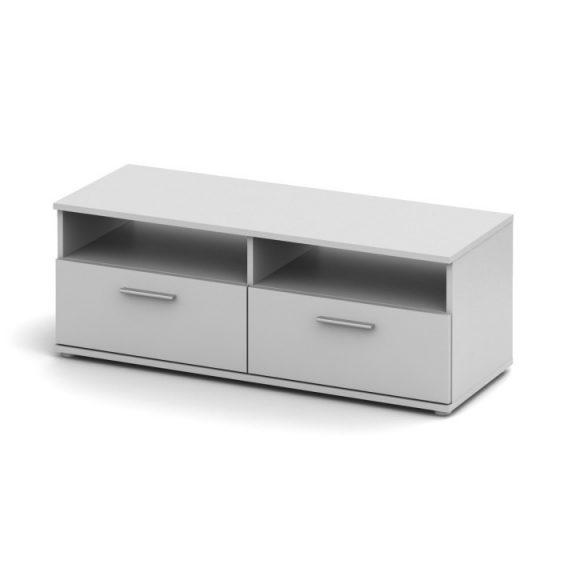 RTV asztal, fehér,  NOKO-SINGA 12