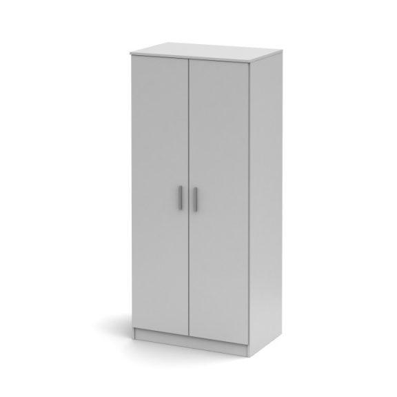 NOKO-SINGA 80 Gardrób 2 ajtós Fehér