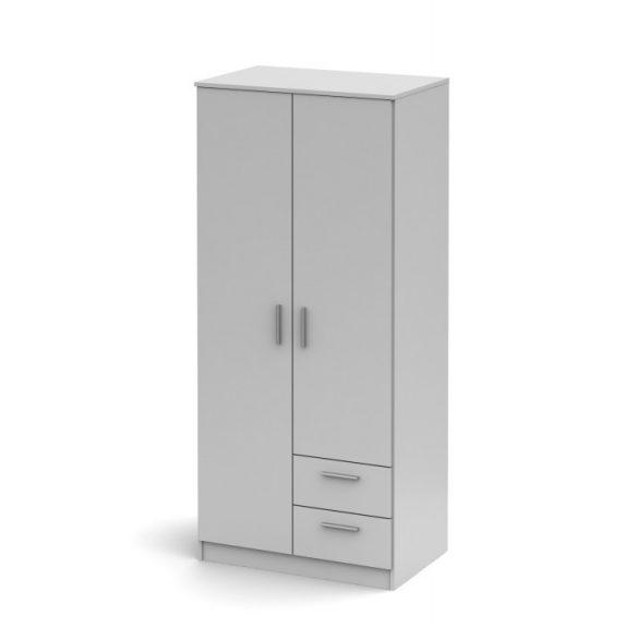 NOKO-SINGA 81 Gardrób 2 ajtós Fehér