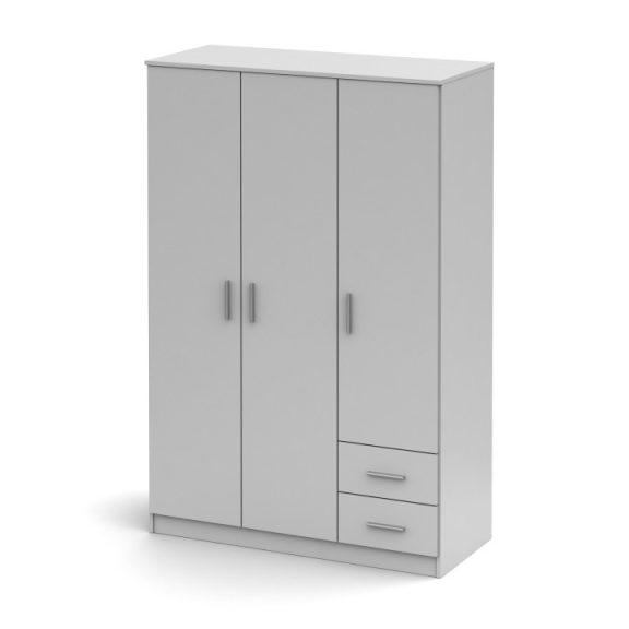 NOKO-SINGA 84 Gardrób 3 ajtós Fehér