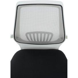 Irodai szék, fekete/szürke, LANCELOT